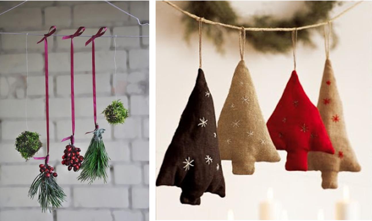 Pendentes de Natal no blog Detalhes Magicos
