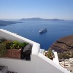 Casa em Santorini no blog Detalhes Magicos
