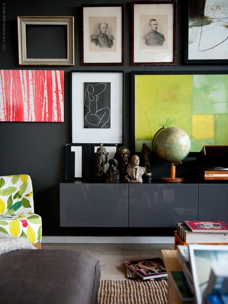 Renovar os moveis com pintura no blog Detalhes Magicos