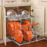 Organizar as tampas na cozinha, blog Detalhes Magicos