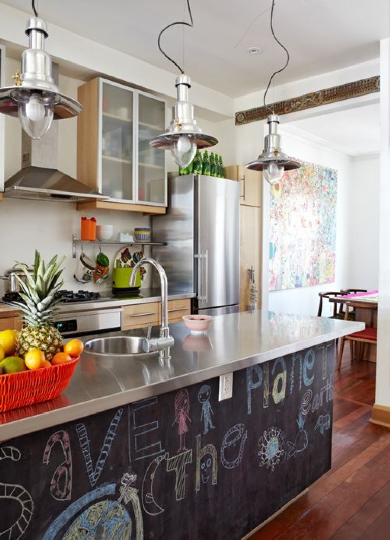Lousa na cozinha, blog Detalhes Magicos