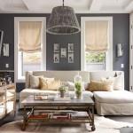 Cor cinza na sala de estar, blog Detalhes Magicos