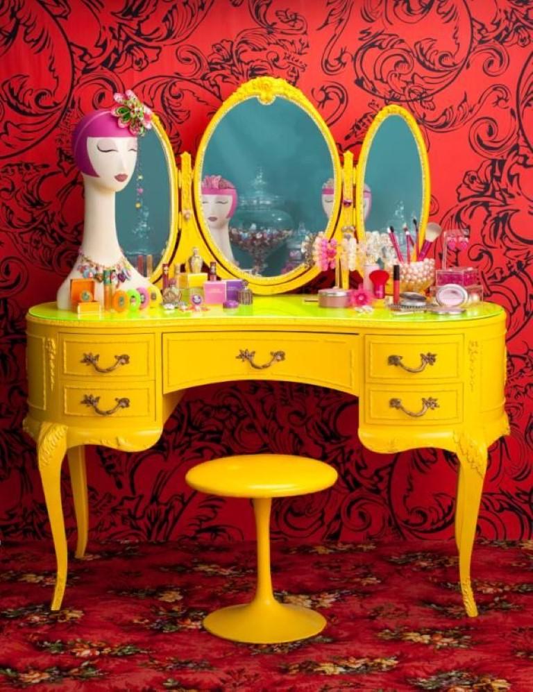 penteadeiras no blog Detalhes Magicos