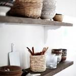 prateleiras abertas na cozinha, blog Detalhes Magicos