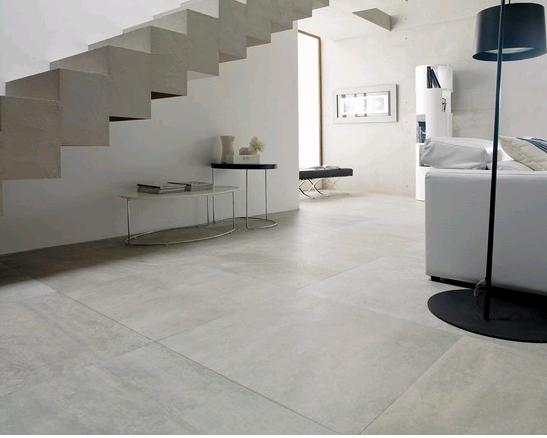 Piso em tons de cinza detalhes m gicos for Lamosa ceramic tile