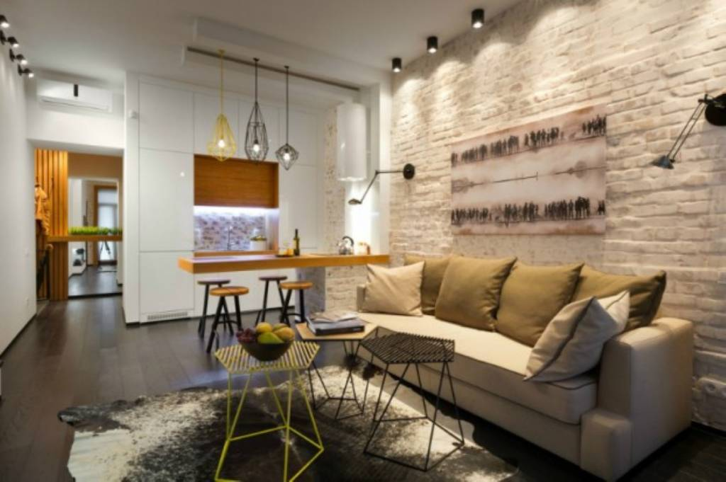 Pequeno apartamento em Kiev