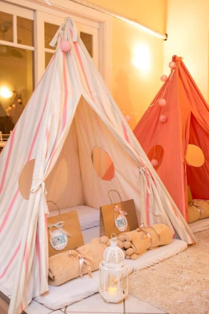 Cabanas e Festa do Pijama