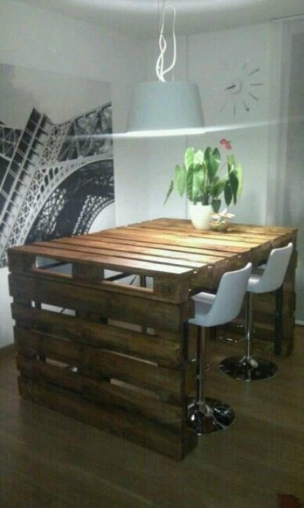 Vamos fazer a mesa com pallets detalhes m gicos for Mesa de pallet