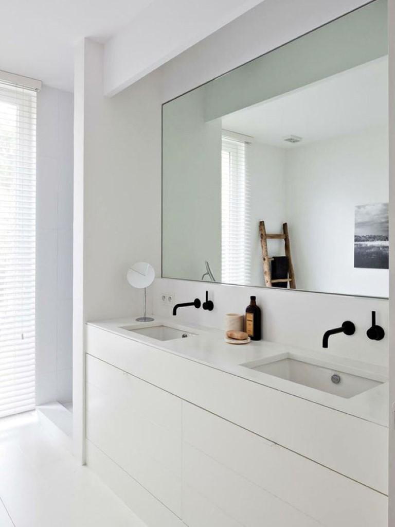 Resultado de imagem para banheiro branco