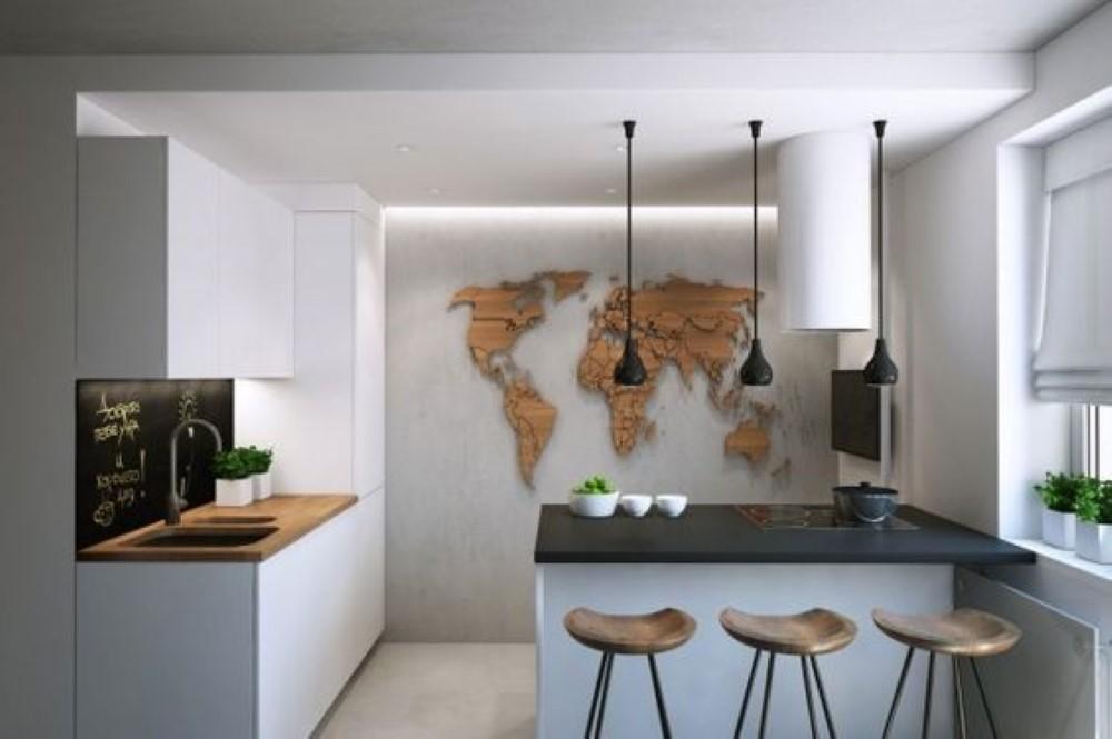 Mapa m ndi nas paredes detalhes m gicos for Lamparas para apartamentos pequenos