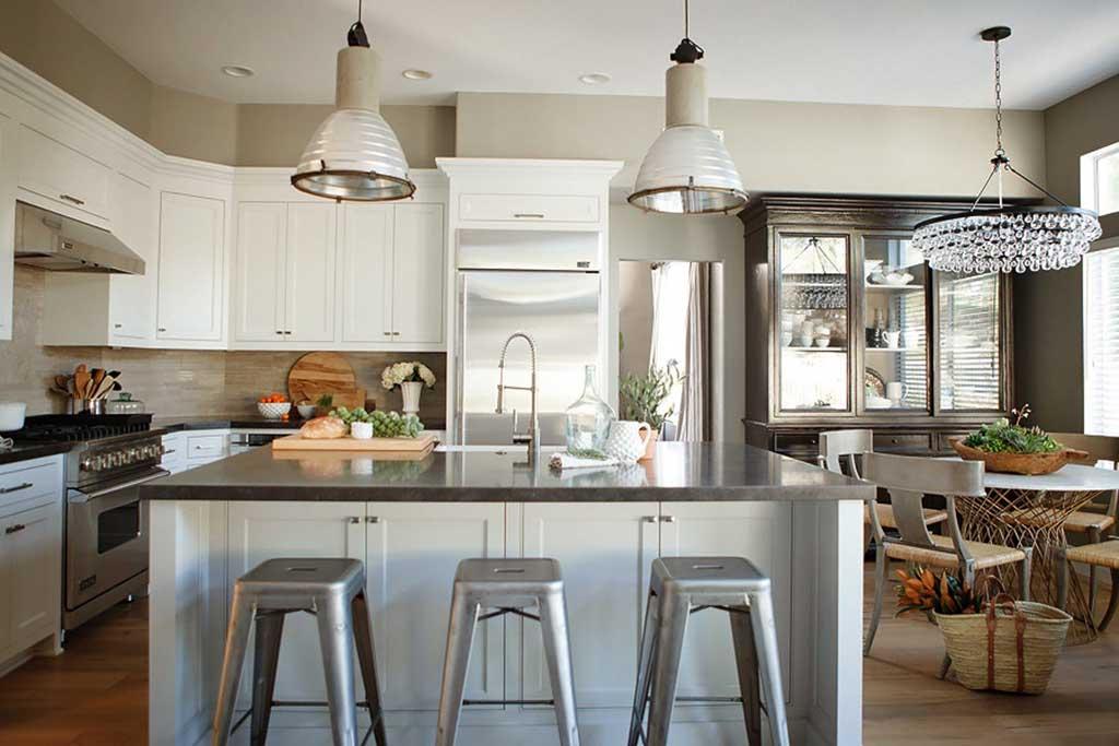 Casa r stica e elegante detalhes m gicos - Cocinas estilo ingles decoracion ...