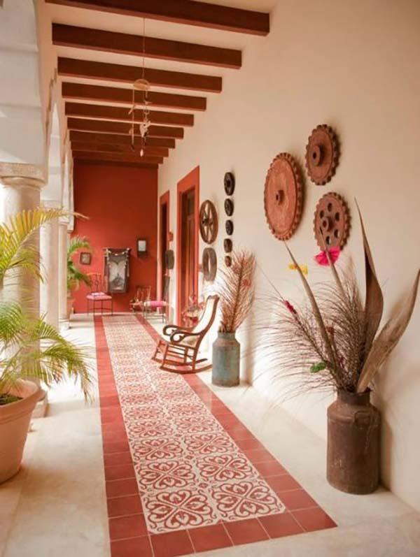 Terra roxa terracota rosa terroso detalhes m gicos for Case in stile hacienda